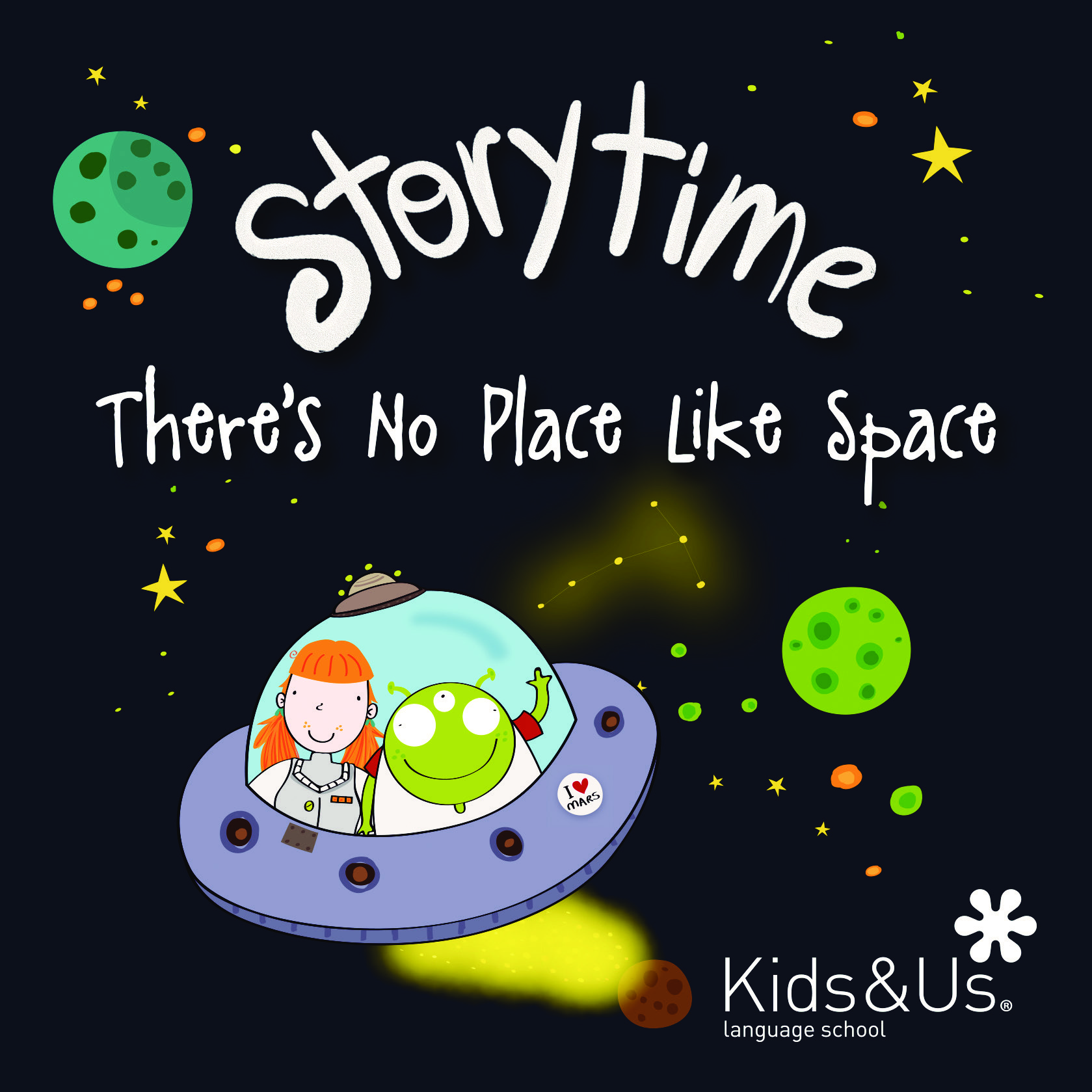 Storytime There's no place like space